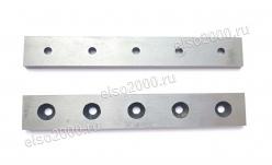 Ножи для торцевателя МСПТ-400 (187мм, 5 отв., комплект) Арт.: 0510
