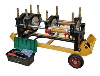 МСПТ-160 Гидравлический сварочный аппарат для стыковой сварки пластиковых ПНД полиэтиленовых ПЭ труб встык