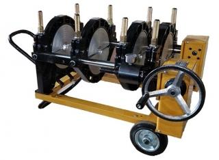 МСПТ-250У4 Механический сварочный аппарат для стыковой сварки пластиковых ПНД полиэтиленовых ПЭ труб встык